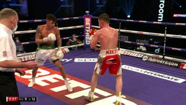 Wood's devastating knockout