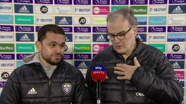 Bielsa discusses win and his future