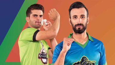 PSL: Lahore Qalandars v Multan Sul