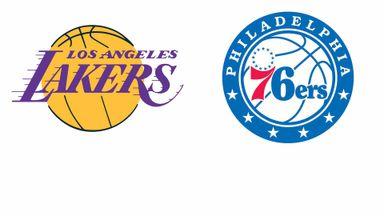NBA: LA Lakers @ Philadelphia