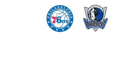 NBA: Dallas @ Philadelphia