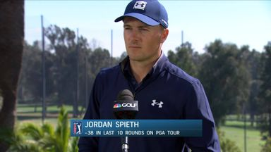 Spieth happy to continue building momentum