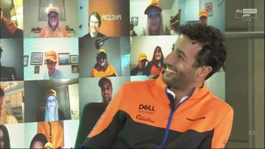 Ricciardo's emotional family messages