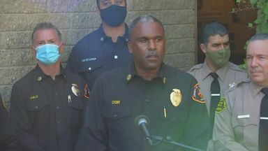 LA Fire Chief gives details on Woods rescue