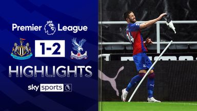 Palace fight back to beat Newcastle