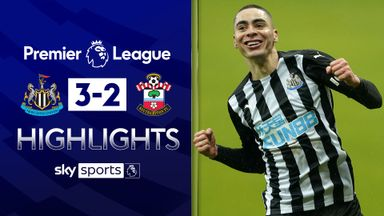Newcastle's nine men hold on for victory