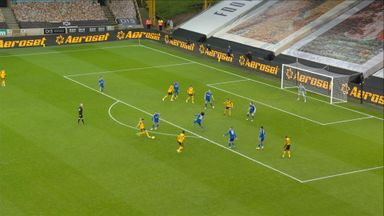 Neves fires over (48)