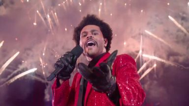 The Weeknd wows Super Bowl LV audience