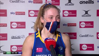 Clarke: It's a privilege to play netball