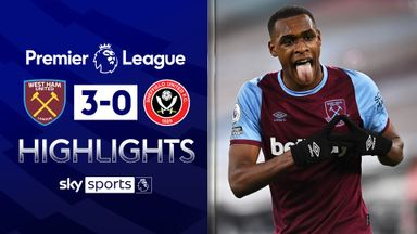 Diop on target as Hammers ease past Blades