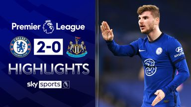 Werner ends his drought in Chelsea win
