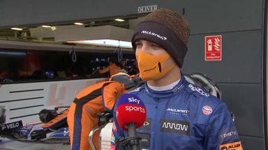 Norris' first verdict on the new McLaren
