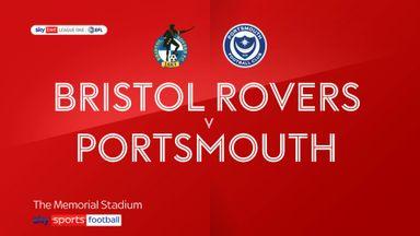 Bristol Rovers 3-1 Portsmouth