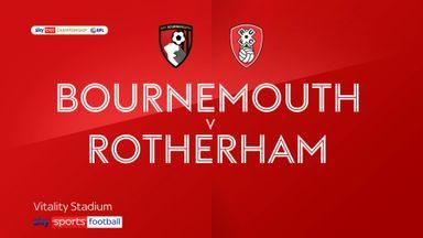 Bournemouth 1-0 Rotherham