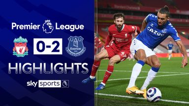 Everton win at Anfield for first time since 1999