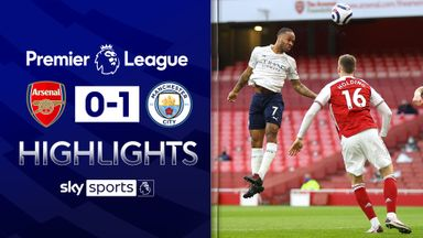 City beat Arsenal to make it 18 wins in a row