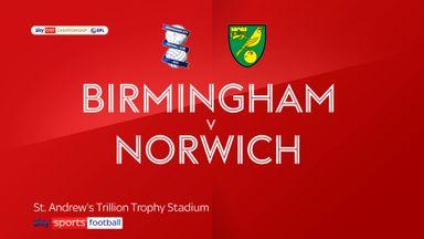 Birmingham 1-3 Norwich