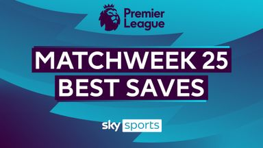 PL Best Saves: Matchweek 25