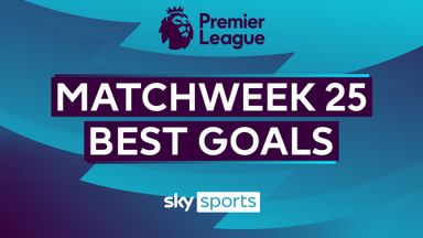 PL Best Goals: Matchweek 25
