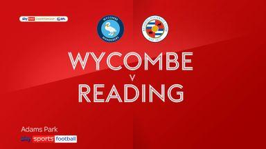 Wycombe 1-0 Reading