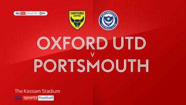 Oxford 0-1 Portsmouth