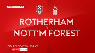 Rotherham 0-1 Nottingham Forest