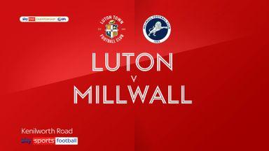 Luton 1-1 Millwall
