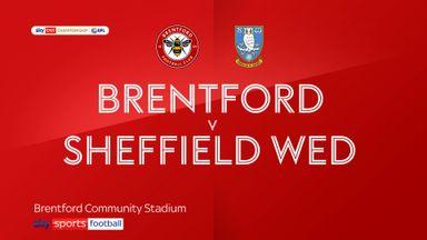 Brentford 3-0 Sheffield Wednesday