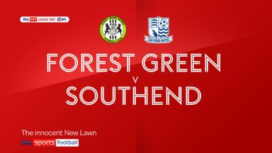 Forest Green 1-3 Southend