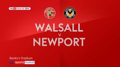 Walsall 0-1 Newport