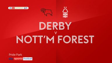 Derby 1-1 Nottingham Forest
