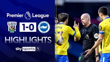 Brighton goal controversially disallowed in defeat