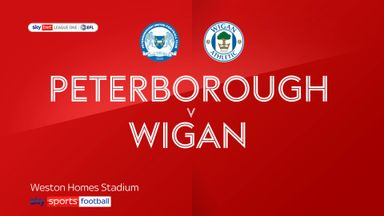 Peterborough 2-1 Wigan