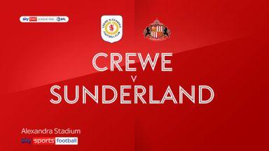 Crewe 2-2 Sunderland