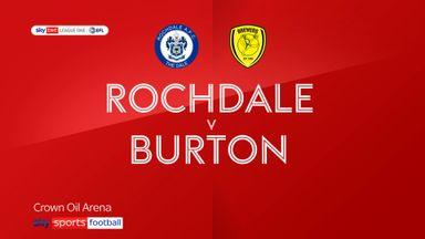 Rochdale 0-2 Burton