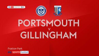 Portsmouth 1-1 Gillingham