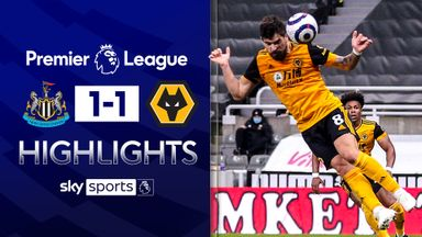 Neves header snatches point for Wolves