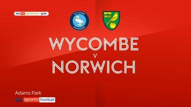 Wycombe 0-2 Norwich