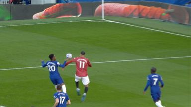 Should Man Utd have had a penalty?
