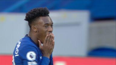Hudson-Odoi goes close (21)