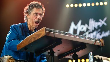 Chick Corea with Return to Forever IV in 2011. Pic: AP