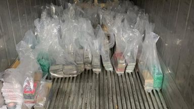 The Metropolitan Police believe this is one of the UK's largest seizures of the Class A drug