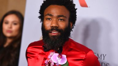 Donald Glover will also executive produce and star in the series. Pic: AP