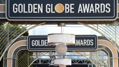 The Golden Globes are being held virtually this year because of the pandemic