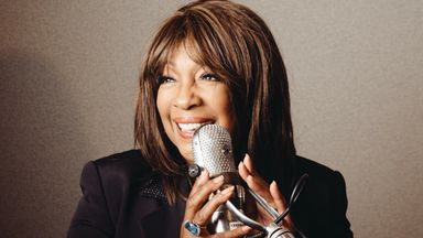 Mary Wilson, founding member of The Supremes, pictured in a Hollywood studio in June 2014. Pic: AP