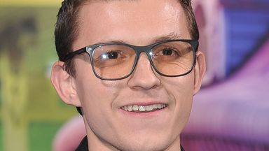 Tom Holland will be back as Peter Parker in Spider-Man 3 - but as yet the new title is up for debate. Pic: AP