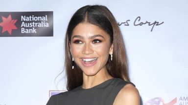 Zendaya suggested the film would be called Spider-Man: Home Slice. Pic: AP