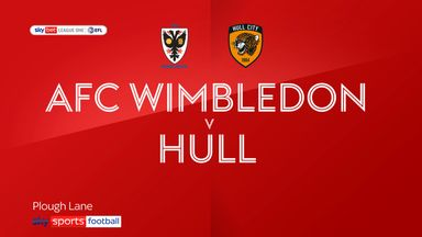 AFC Wimbledon 0-3 Hull City