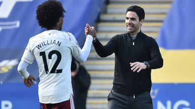 Arteta: Arsenal moving in right direction