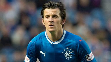 Barton talks Rangers' title, Gerrard's impact